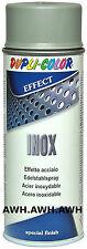 1x400ml Lackspray Effect Edelstahl Effekt Spray Inox Schutzlack Edelstahlspray