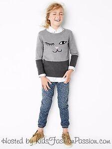 NWT $40 GAP Kids Leopard Soft Denim Jeans Pants XS S M 4 5 6 7 8