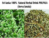 Herbal Polpala  Drink - Life enhancing ( Aerva Lanata ) 100g