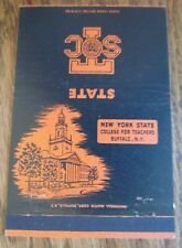 NEW YORK STATE COLLEGE FOR TEACHER (BUFFALO, NEW YORK) MATCHBOOK MATCHCOVER -F6