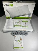 Nintendo Wii Fit RVL-021 Complete Box W/ Balance Board, Game Manuals, Receipt