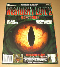 Resident evil 2 Perfect Guide Versus Book Strategy Guide in ( German / Deutsch )