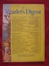 Reader's Digest July 1948 Gretta Palmer Francis B Sayre