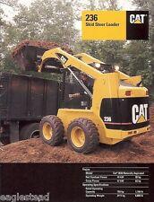 Equipment Brochure - Caterpillar - 236 - Skid Steer Loader - 2001 (EB07)