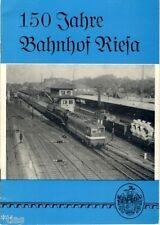 Grieshammer 150 Jahre Bahnhof Riesa Eisenbahn Sachsen