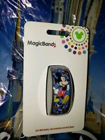 Disney MICKEY MOUSE Ultimate All Over Blue Magic Band Magicband Parks New