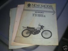 1976 Suzuki TS185 New Model Technical Bulletin