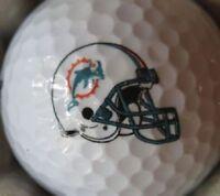 3 Dozen NFL (Miami Dolphins Helmet) Callaway Mint AAAAA Used Golf Balls !