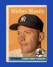 1958 Topps Set Break #150 Mickey Mantle LOW GRADE *GMCARDS*