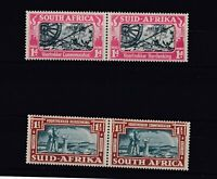 South Africa 1938 Voortrekker Commemoration SG80/81 MLH JK2593