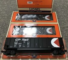 ✅LIONEL CP RAIL ROTARY BATHTUB GONDOLA COAL HOPPER 3 CAR SET! 6-17465 CANADIAN