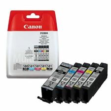 CARTUCCE CANON PGI-580 CLI-581 2078C005 NERO+COLORI TR7550 TR8550 TS6150 TS8152