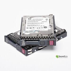 """2 X HP 146GB 2.5"""" 15K SAS HDD w/Caddy 652625-001 507129-010 EH0146FCBVB G8 G9"""