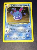 Light Azumarill 13/105 Neo Destiny Holo Rare Pokémon Card WotC NM