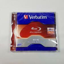 Verbatim Blu-Ray BD-RE Rewritable 25GB Disc In Jewel Case