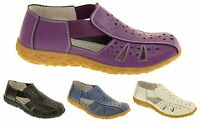 Womens COOLERS Leather Lovely Open Summer Sandals Comfort Shoes Size 4 5 6 7 8