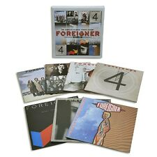 FOREIGNER - COMPLETE ATLANTIC STUDIO ALBUMS 1977-1991,THE 7 CD NEU
