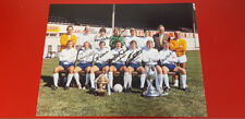 Derby County FC Division 1 Winners 1975 signed photo x7 McFarland etc COA AFTAL