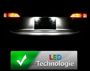 Ampoule LED éclairage plaque immatriculation blanc xenon pour AUDI A3 8P