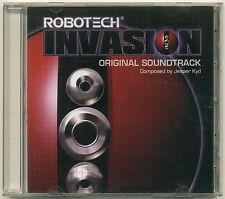 ROBOTECH INVASION Original Soundtrack; 2004 CD Global Star/Vicious Cy Jesper Kyd
