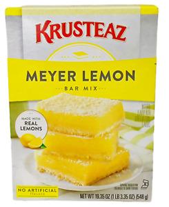 Krusteaz Meyer Lemon Bar Mix 19.35 oz