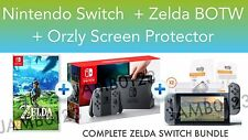 Nintendo Switch Console Grey + Legend of Zelda Breath of the Wild *BUNDLE