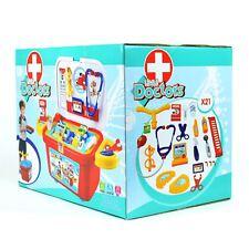 Little Doctor Kit Avec Roues Jeu De Rôle Docteurs Infirmières ambulance
