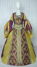 MEDIEVAL RENAISSANCE TUDOR WEDDING HANDFASTING LARP GOWN DRESS COSTUME (24H)