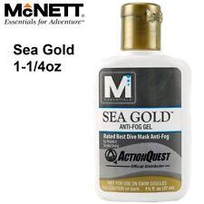 McNett Sea Gold 1-1/4oz anti-fog gel 40851 Mask Lenses Maintenance - AU