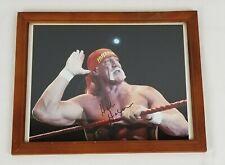 Hulk Hogan Signed Autograph Autographed Color Photo Picture 8x10 Framed COA
