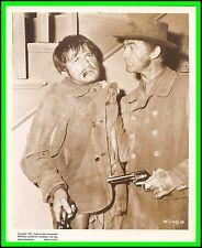 "LARRY STORCH & MARK STEVENS in ""Gun Fever"" Original Vintage Photo 1957 - SCARCE"