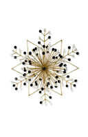 MacKenzie-Childs Gold Snowflake Ornament - Large