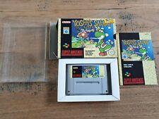 Yoshi's Safari FAH Super Nintendo SNES Complete CIB Boxed PAL