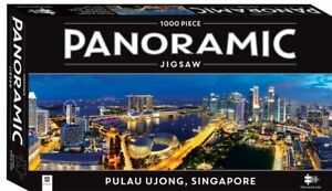 Panoramic Mindbogglers - Pulau Ujong, Singapore - 1000 Piece Jigsaw Puzzle