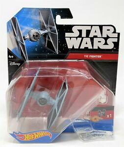Hot Wheels Star Wars TIE Fighter Starship Vehicle Toy DRX09