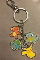 Nintendo Pokemon Multi Character Charms Metal Keychain Key Ring 2016 Charizard K