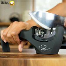 Knife Sharpener 3 Stages Professional Kitchen Sharpening Stone Grinder knives...