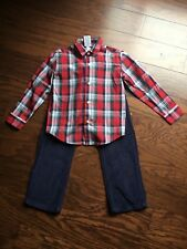 Boys Izod size 6/7 top with matching pants