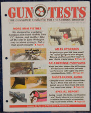 Magazine GUN TESTS October 2013 STEVENS Model 320 Home Defense 12 Gauge SHOTGUN