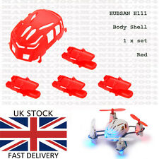 Hubsan Q4 H111 Body Shell 1x set (red) Genuine - Spare Parts Quadcopter Drone