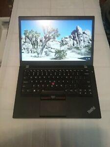 Portátil Lenovo ThinkPad T460s  - Core i5 6300U / - 12 GB RAM - 256 GB SSD TCG