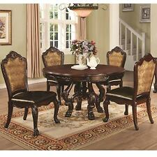 Coaster Furniture 105510 105512 Benbrook 5 Pc Dining Table Chairs Set