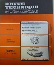NEUVE DE STOCK !!!!   Revue technique RENAULT 17 TL + 17 TS RTA N° 320 1973 R17