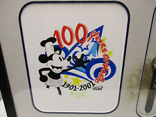 Disney Picture Frame Mickey 100 Years of Magic Limited 16.5 X 14.5 Signed Watch