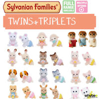 SYLVANIAN FAMILIES TWINS & TRIPLETS FULL RANGE CHOOSE YOUR SET BRAND NEW IN BOX