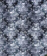 Filigree Skull Bandana Head band scarf Chemo Biker Gothic Dog feeanddave