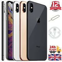 Apple Iphone XS 64GB 256GB Gold Silver Space Grey Unlocked Sim Free Smartphones