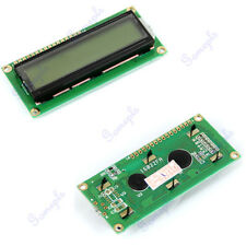 1602 Display Character LCD Module 16x2 HD44780 Controller Yellow Green Backlight