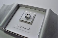 Bella Design Square wedding invitation heart boxed