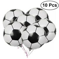 "Football Foil Balloons X 10 Birthday Party Balloon Boy 18"" Girl"